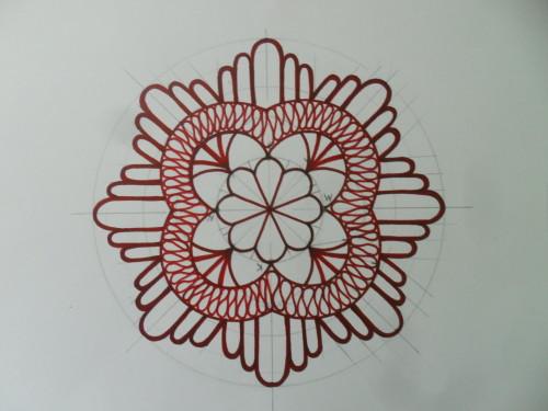 готовый чертеж салфетки