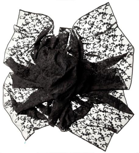 красивый ажурный шарф